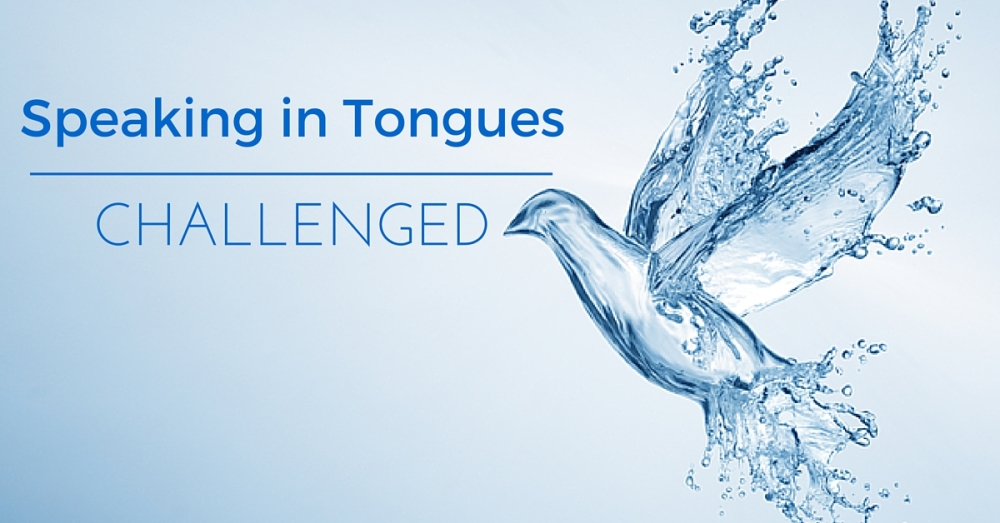 speaking in tongues: Gift of the holy sirit