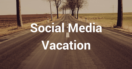 Vacation from social media