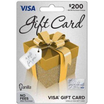 $200 gift card for wife