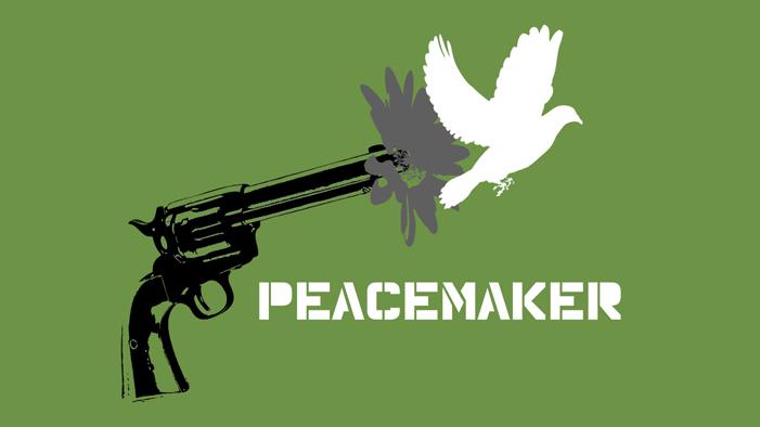 timid, weak, peacemaker, coward