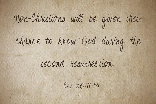 resurrection of unbelievers